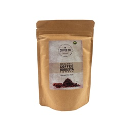 CO FEE CO Organic Roasted Robusta Coffee Powder 150g